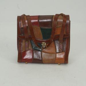 0f56be7201 Vintage John Romain Patchwork Burlington Purse